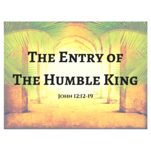 the-entry-of-the-humble-king